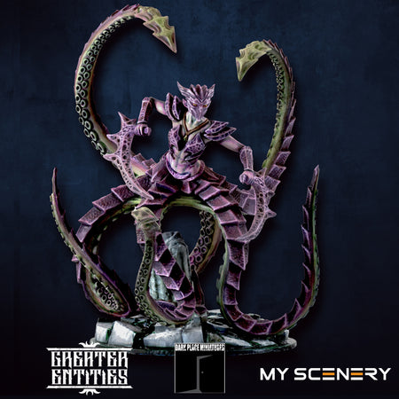 Voratrix salax DEMON prince proxy countas count as W40K Warhammer 40 0000 GREATER ENTITIES LEGION DISTRIBUTION MY SCENERY