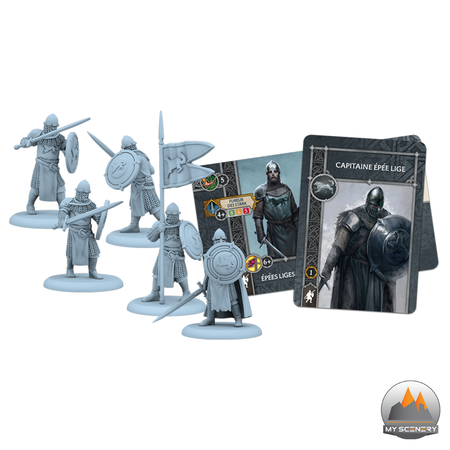 Maison Stark House Epée epee lige A SONG OF ICE AND FIRE ASOIF Le trone de fer le jeu de figurine
