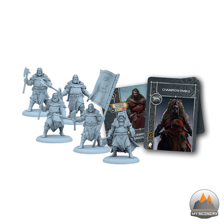 Maison Omble Berserkers Berserker Umber House A SONG OF ICE AND FIRE ASOIF Le trone de fer le jeu de figurine