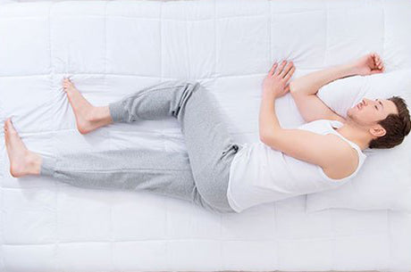 Select Your Sleep Position Wisely Pain Relief supplements asr research