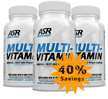 Advanced Multi Vitamin 3 Bottle 1cus
