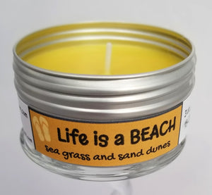 Life is a Beach Intentionally Inappropriate Travel Candle funny