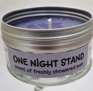 One Night Stand (scent of a freshly showered man) Soulmate Scents Travel Candle FREE SHIPPING!