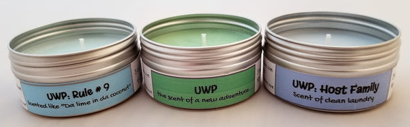 UWP! ($26 for a 3 PACK) Soulmate Scents Travel Candle FREE SHIPPING!