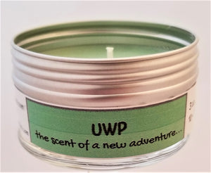 UWP! (The scent of a new adventure) Soulmate Scents Travel Candle FREE SHIPPING!