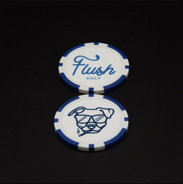 Flush Dog Blue - Putter Cover Putter Cover Flush Golf Co.