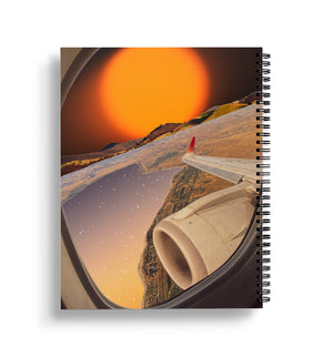 Explosion, 2020 Bound Notebook