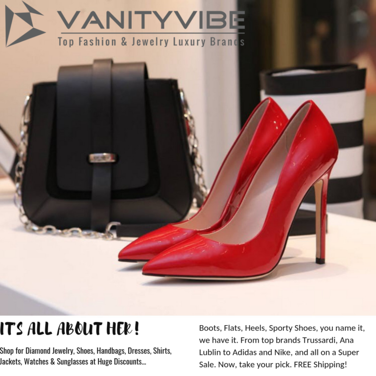 Bargain Shoe Shopping at VanityVibe