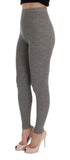 DOLCE & GABBANA  Gray Wool Stretch Tights