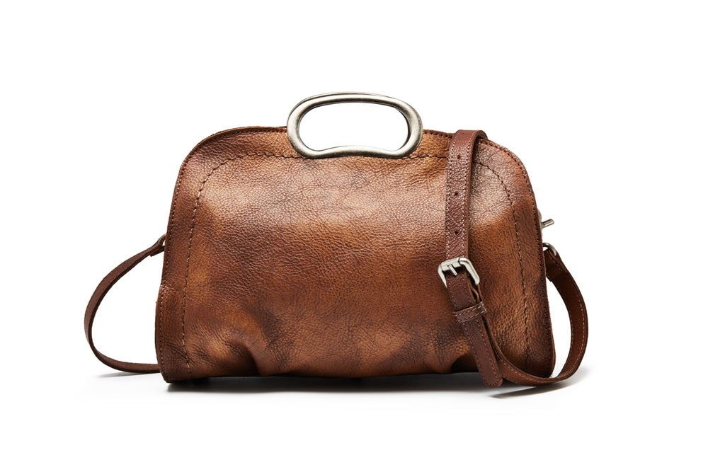 VanityVibe Vegetable Tanned Full Grain Leather HandBag