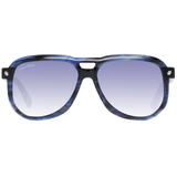 DSQUARED² Blue Aviator Men Sunglasses