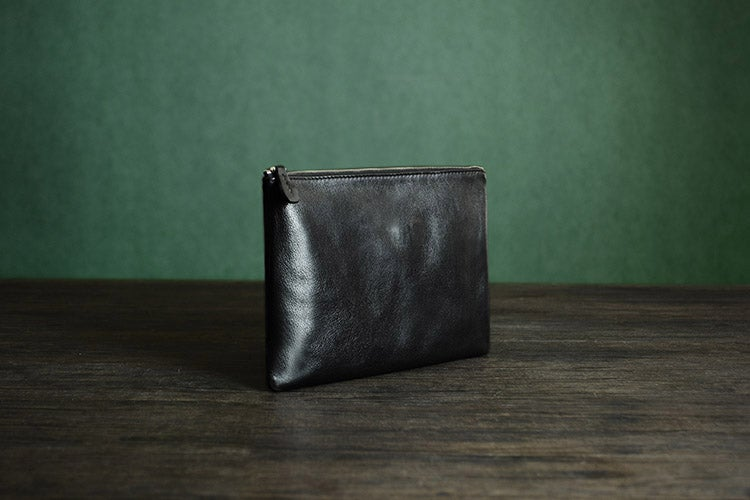 Italian Leather Clutch Envelope Bag