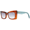 JUST CAVALLI  Brown Women Trapezium Sunglasses