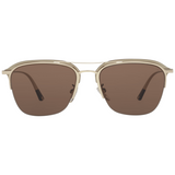 POLICE Rectangle Gold/Gunmetal Men Sunglasses
