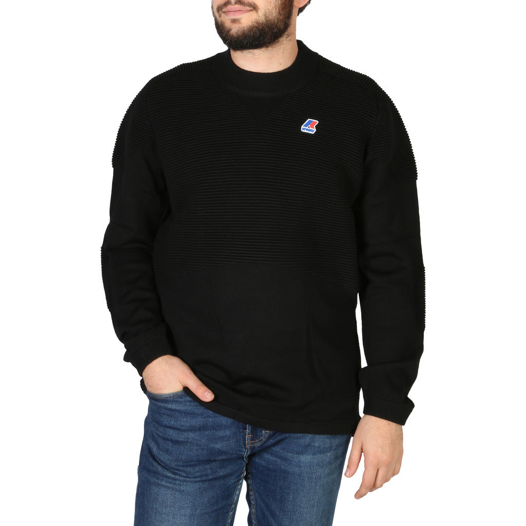 K-Way Stunning Black Sweater For Men