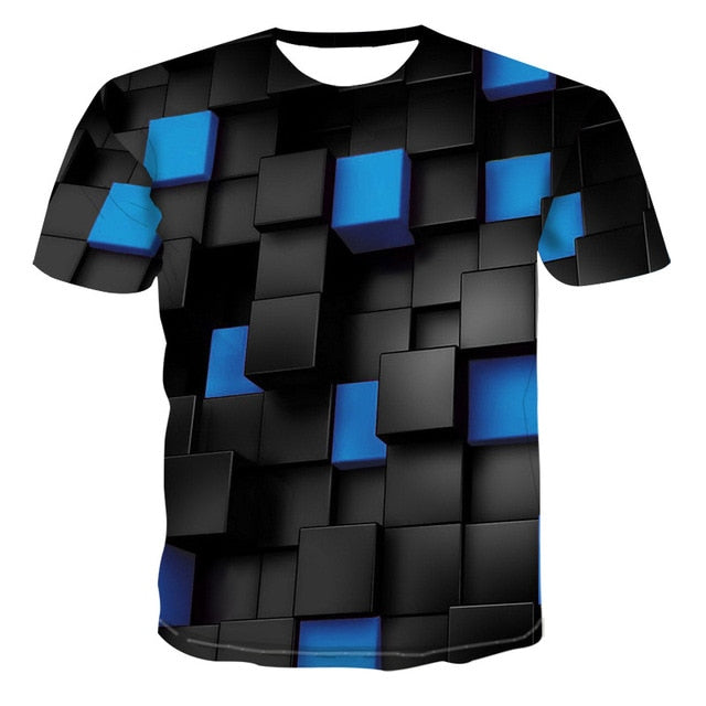 VanityVibe Summer Men New 3d T shirt With Short sleeve