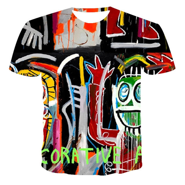 VanityVibe Street fashion style Male 3D Printed T-shirt