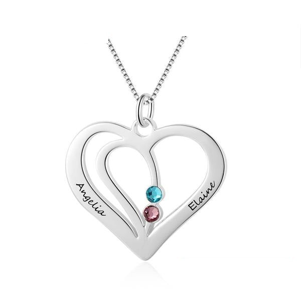 NEW Personalized Engraved Gift Necklace .925 Silver Jewelry
