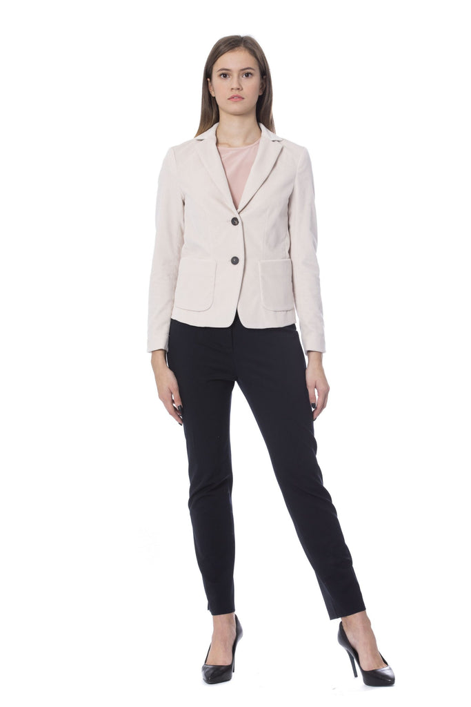 PESERICO Rosa Single Breasted Blazer Jackets & Coat