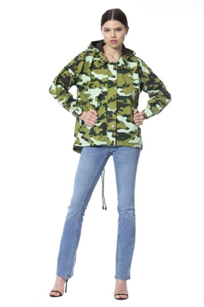 SILVIAN HEACH Hooded Parka Fantasy unique Jackets & Coat for lady