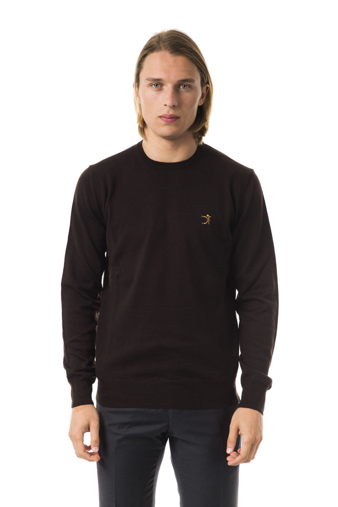 UOMINITALIANI  Moro Embroidered Crew Neck