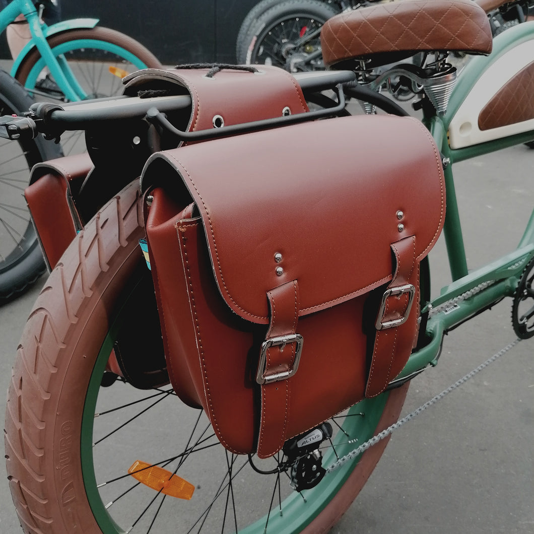 Retro Messenger Saddle Bag