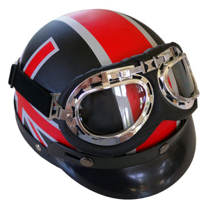 Union Jack retro helmet
