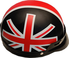 Load image into Gallery viewer, Union Jack retro helmet