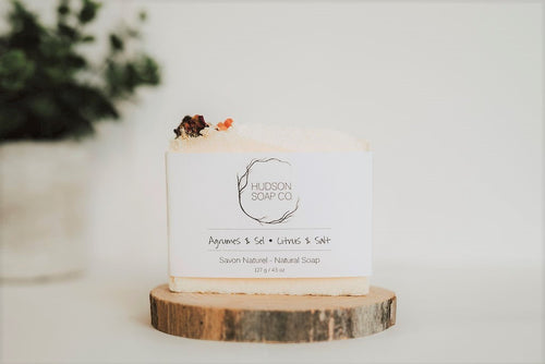 CITRUS & SALT - Natural Soap