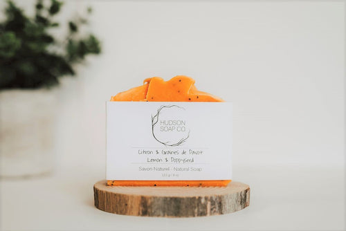 LEMON POPPYSEED - Natural Soap