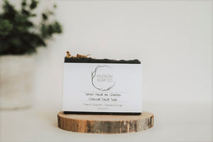 CHARCOAL FACIAL BAR - Natural Soap