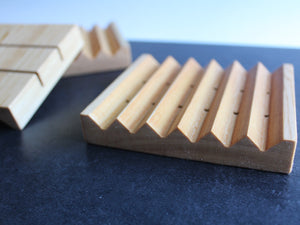 SOAP DECK - Natural Cedar Soap Tray