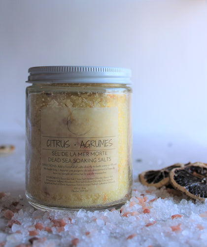 CITRUS - Soaking Salts