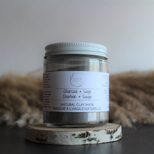 CHARCOAL & SAGE - Natural Clay Mask