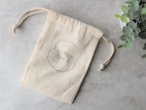 SOAP SAVER - 100% cotton bag