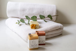 PARTY FAVOURS - Natural mini soaps