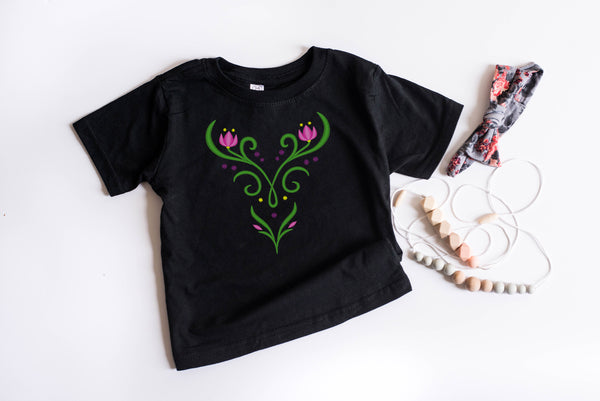 Princess Anna Youth T-Shirt - Crazy Corgi Lady Designs - Unique Disney Themed Shirts