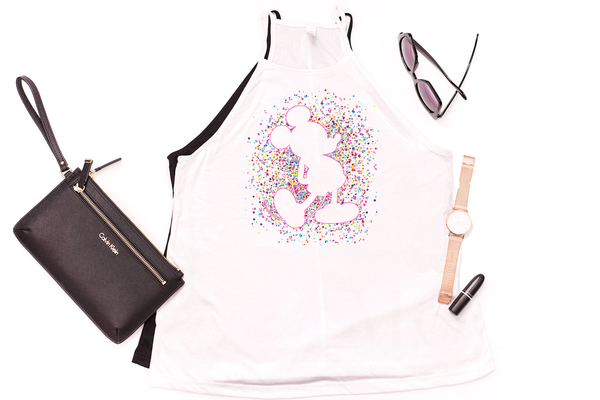 Celebration Mickey Confetti High Neck Tank