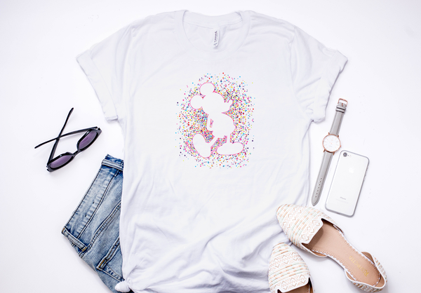 Celebration Mickey Confetti Tee