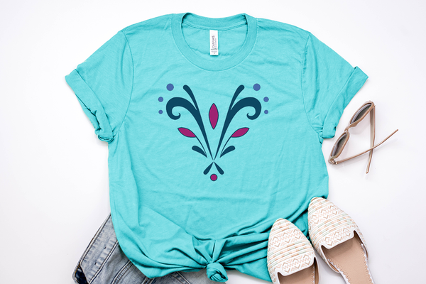Queen Elsa Coronation Tee - Crazy Corgi Lady Designs - Unique Disney Themed Shirts