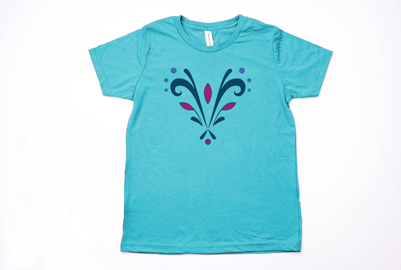 Queen Elsa Coronation Youth T-Shirt - Crazy Corgi Lady Designs - Unique Disney Themed Shirts