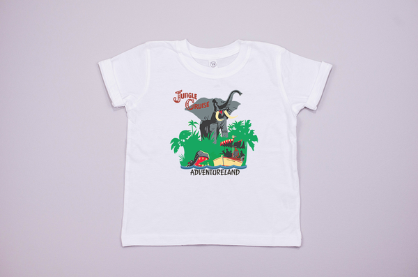 Jungle Cruise Youth T-Shirt - Crazy Corgi Lady Designs - Unique Disney Themed Shirts