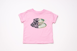 "Alice in Wonderland ""Just A Half Cup""  Youth T-Shirt - Crazy Corgi Lady Designs - Unique Disney Themed Shirts"