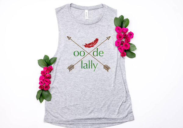 Robin Hood Oo De Lally Muscle Tank - Crazy Corgi Lady Designs