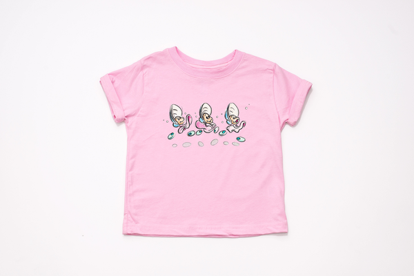 Alice in Wonderland Oyster Sketch Youth T-Shirt