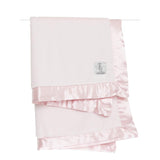 little giraffe luxe blanket in pink | eku Box