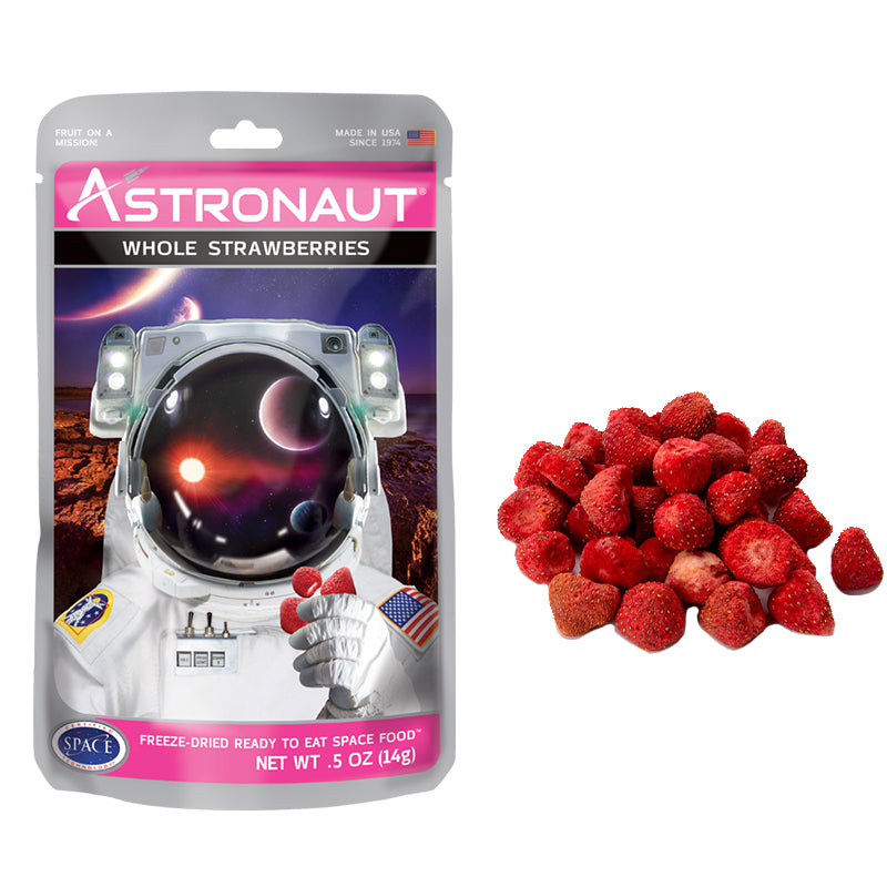 Astronaut Whole Strawberries - Eku Box