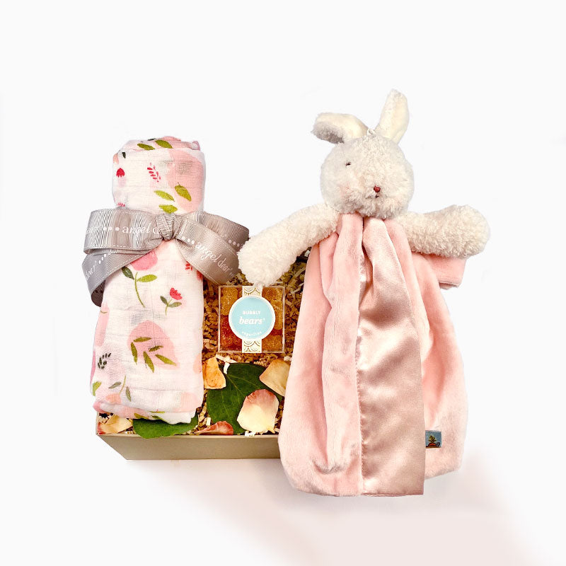 Small Welcome Baby Girl Gift Box