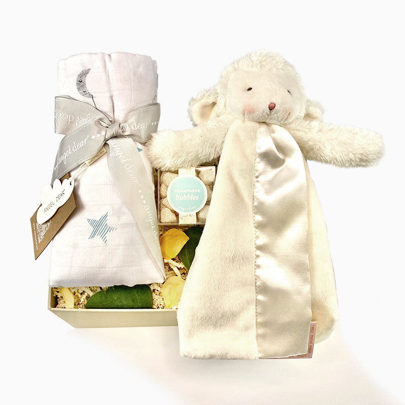 Mini baby lamb gender neutral gift box - ekubox