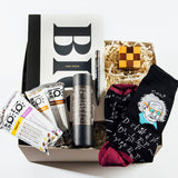 brainiac curated gift box by eku box